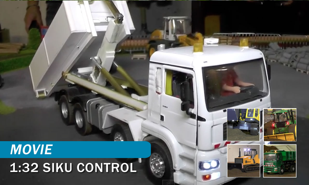 movie 1 32 siku britain control grosse mini trucks. Black Bedroom Furniture Sets. Home Design Ideas